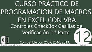 Curso Práctico Programación VBA Excel 2007: Usar