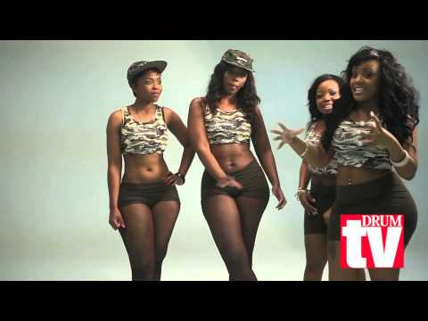 Pro Twerkers - Brief dance tutorial on how to twerk (South Africa)