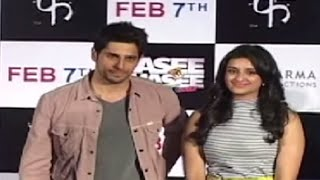 'Hasi Toh Phasi' Theatrical Trailer Launch - Feb 2014 | Siddharth Malhotra