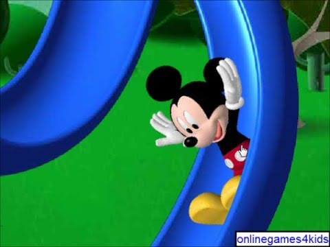 Mickey Mouse Clubhouse Game Goofy's Silly Slide - YouTube