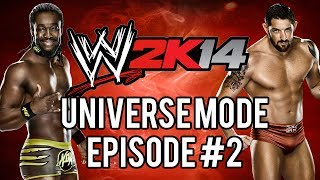 "WWE 2k14 Universe Mode #02 ""Four Sides Of Steel"""