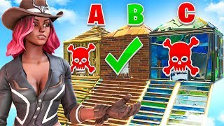 WRONG DOOR = DEATH (How Well Do YOU know FORTNITE Season 6?)