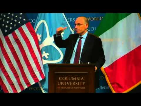 World Leaders Forum: Enrico Letta, Prime Minister of Italy