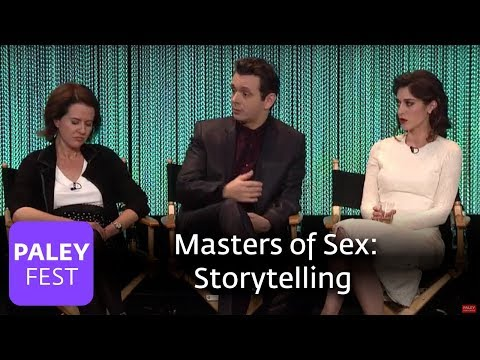 Masters of Sex - Michael Sheen, Lizzy Caplan on the Great Storytelling that TV Offers