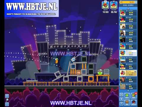Angry Birds Friends Tournament Level 3 Week 69 (tournament 3) Rock in Rio no power-ups