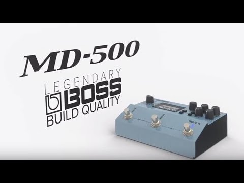 Boss MD-500 Digital Modulation Guitar Effects Pedal