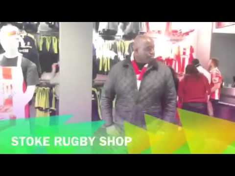 Arsenal v Stoke City - We Visit The Stoke Rugby Shop