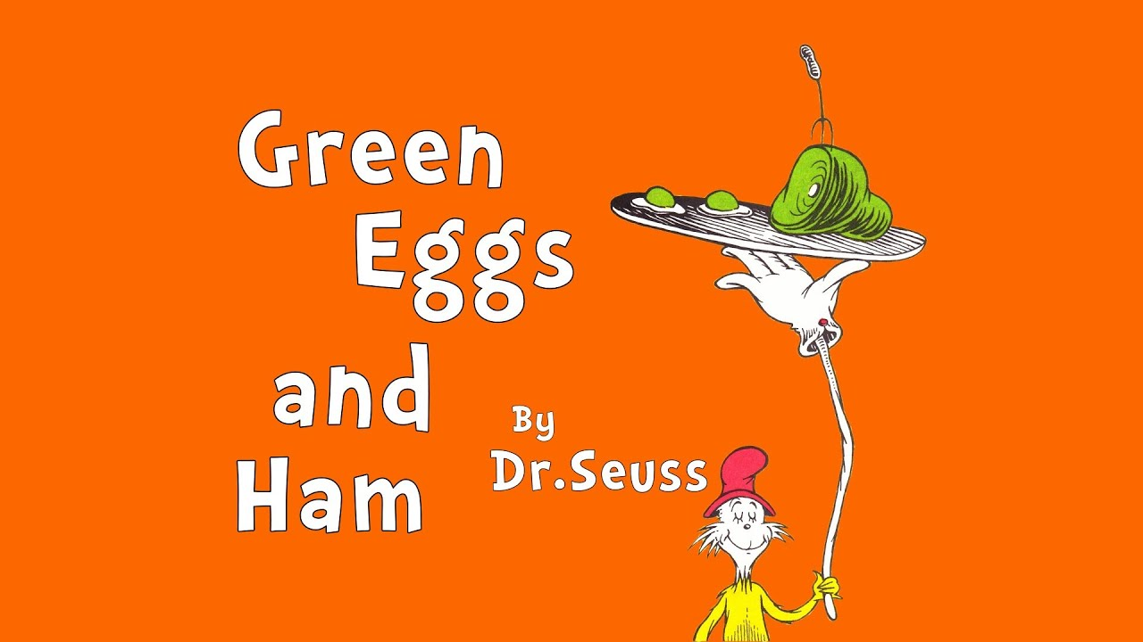 green eggs and ham book