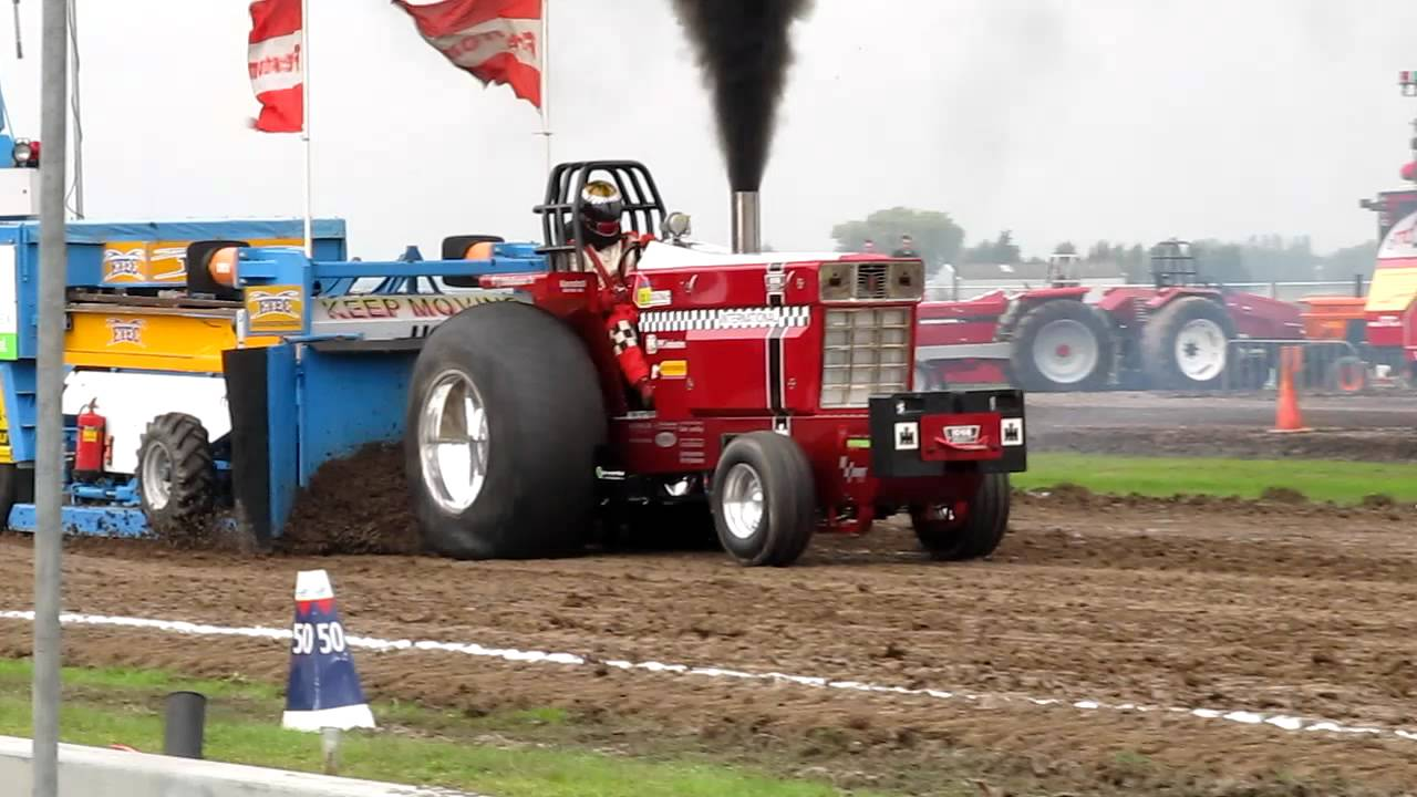 Pro Stock Pulling Tractors : Tractor pulling oudenhoorn rocky pro stock youtube