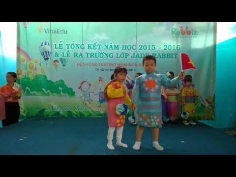 Mam Non Rabbit - Bieu dien thoi trang - Le tong ket 2015-2016