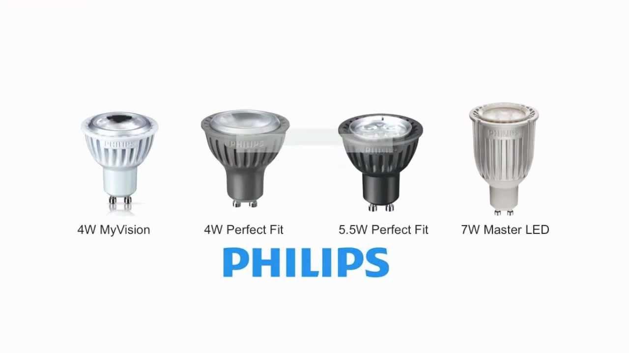 Philips Gu10 Led Bulb Guide Gu10 Led Bulbs Youtube