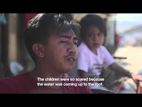 Typhoon Haiyan: one man's courage amid the chaos of the storm