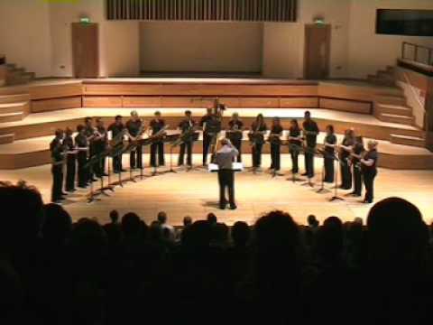 Simons Mangrove Groove – National Saxophone Choir