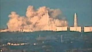 Fukushima (Japan) Nuclear Power Plant Explosion 12 March