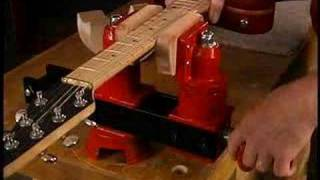Watch the Trade Secrets Video, Guitar Repair Vise