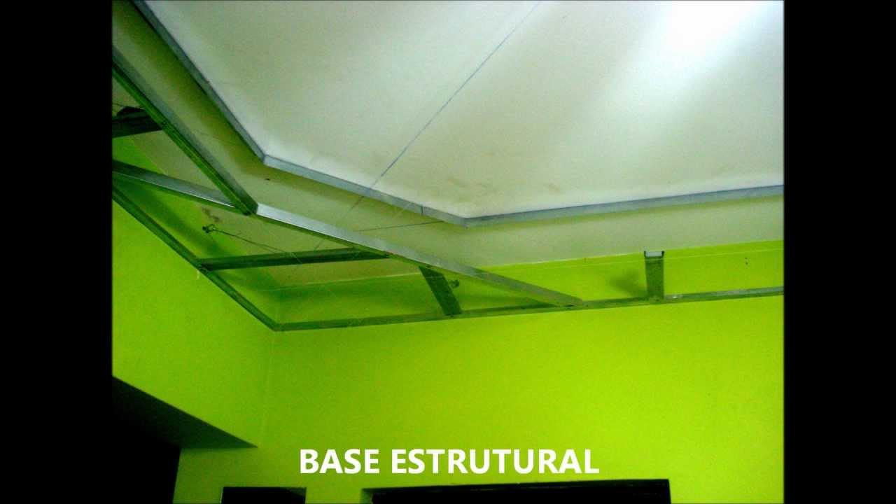 Gesso e Drywall Minha primeira Sanca ZEZINHO NUNES - YouTube