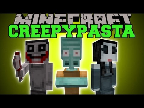 Minecraft: CREEPYPASTA (BEWARE, EVIL AWAITS YOU!) Mod Showcase