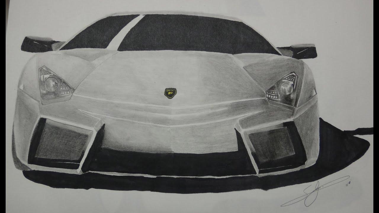 lamborghini reventon drawings - photo #10