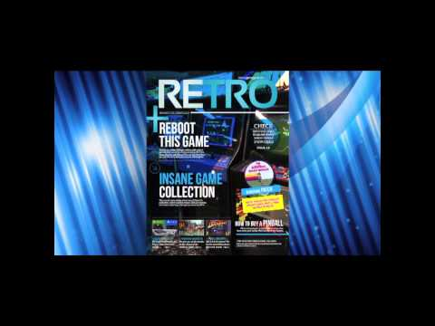 RETRO Magazine Kickstarter Sizzle Video