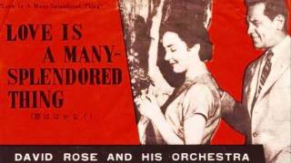 David Rose And His Orchestra Love Is A Many-Splendored