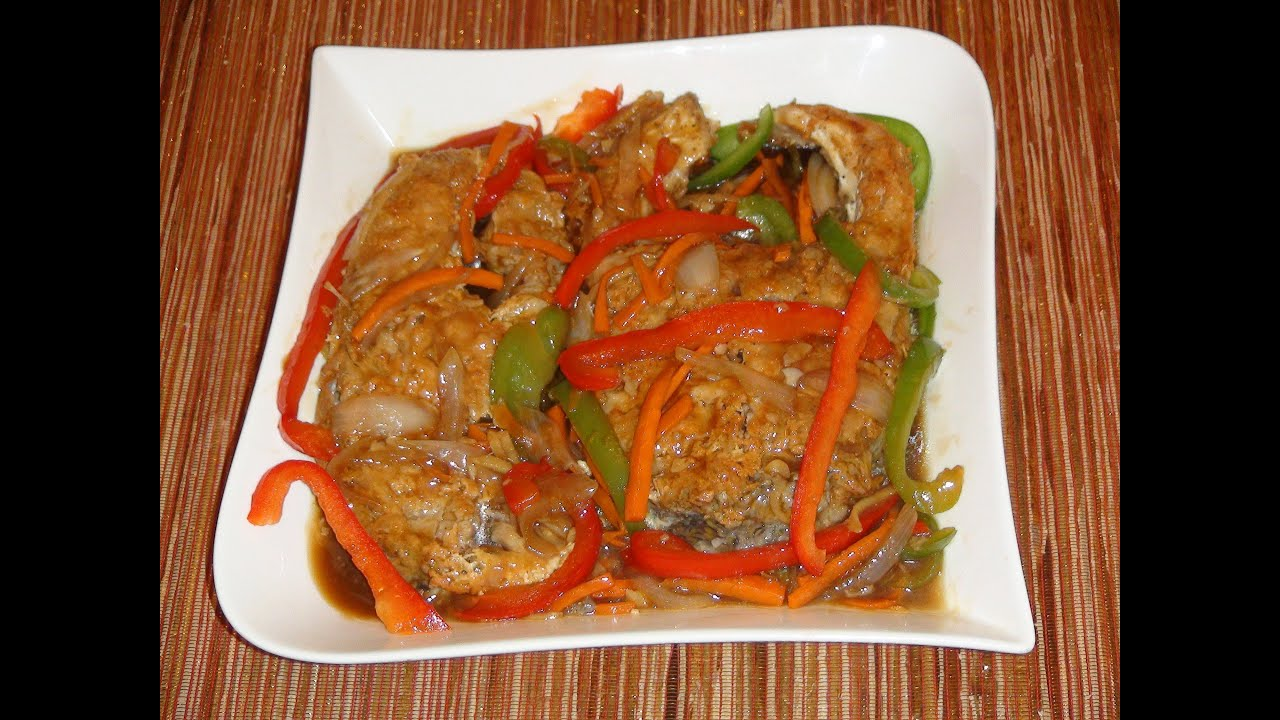 Pinoy recipe escabeche most delicious fish recipe in for Fish cooking recipes