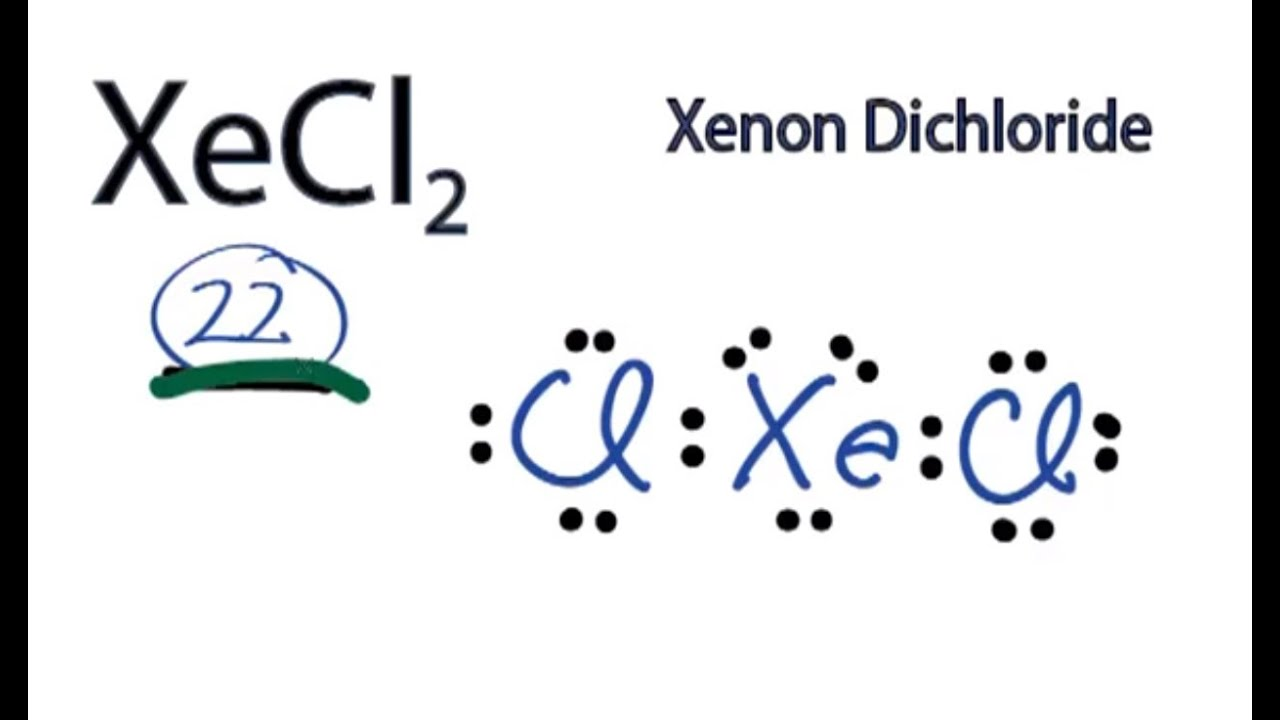 Xecl2 Molecular Geometry A step-by-step explana...