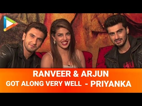 Priyanka Chopra Ranveer Singh Arjun Kapoor Fun Interview On Gunday Part 1