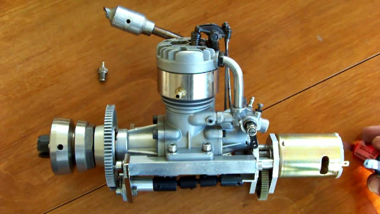 Build A Starter For Big Rc Plane Engines