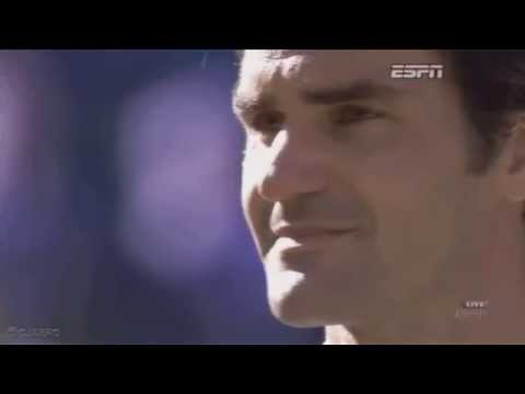Roger Federer Crying in Wimbledon 2014