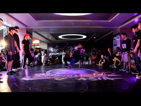 BBoy 5 on 5 IRON CITY  vs CASTER EVOLUTION│China Prelim of New Taipei Bboy City 2014