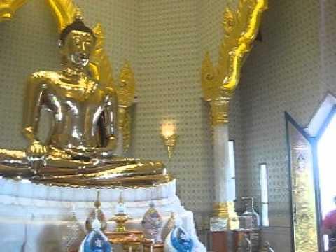 Chùa Vàng tại Thái Lan nơi có Tượng Phật bằng Vàng nguyên khối lớn nhất T.G