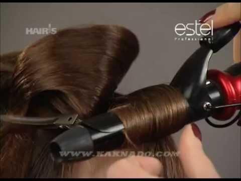 Романтическая прическа для длинных волос (видео урок)
