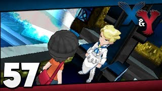 Pokémon X And Y Episode 57 Elite Four: Siebold!