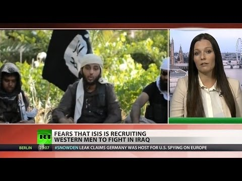 ISIS recruiting fighters from Western nations
