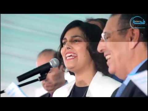"""طنجة: مريم الخمري ويوسف العمراني في الاحتفال بمئوية إنشاء مدرسة """"أدريان بيرشي"""" الفرنسية"""