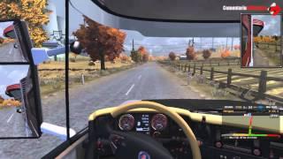 Euro Truck Simulator 2 (2014) Gameplay PC/HD 7750