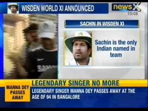 Sachin Tendulkar named in Wisden all-time World Test XI - News X