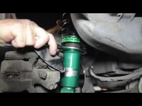 How do I adjust the ride height on my coilovers? Presented By Andy's A