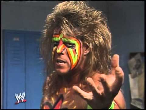 WWF Wrestlemania VI - The Ultimate Warrior Interview - YouTube