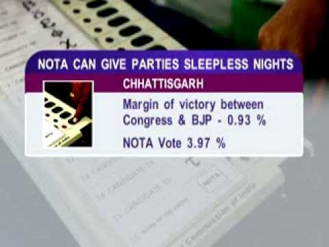 News Night: NOTA option excercised for the first time in India