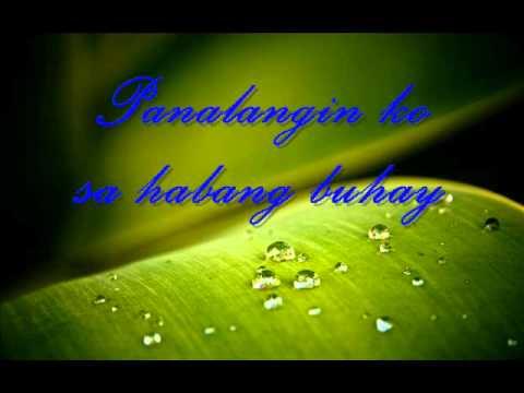 Apo Hiking Society - Panalangin  (with lyrics)