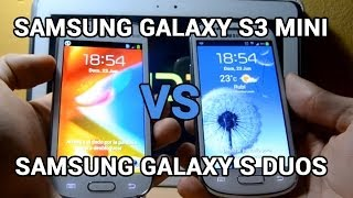 Samsung Galaxy S3 Mini Vs Samsung Galaxy S Duos