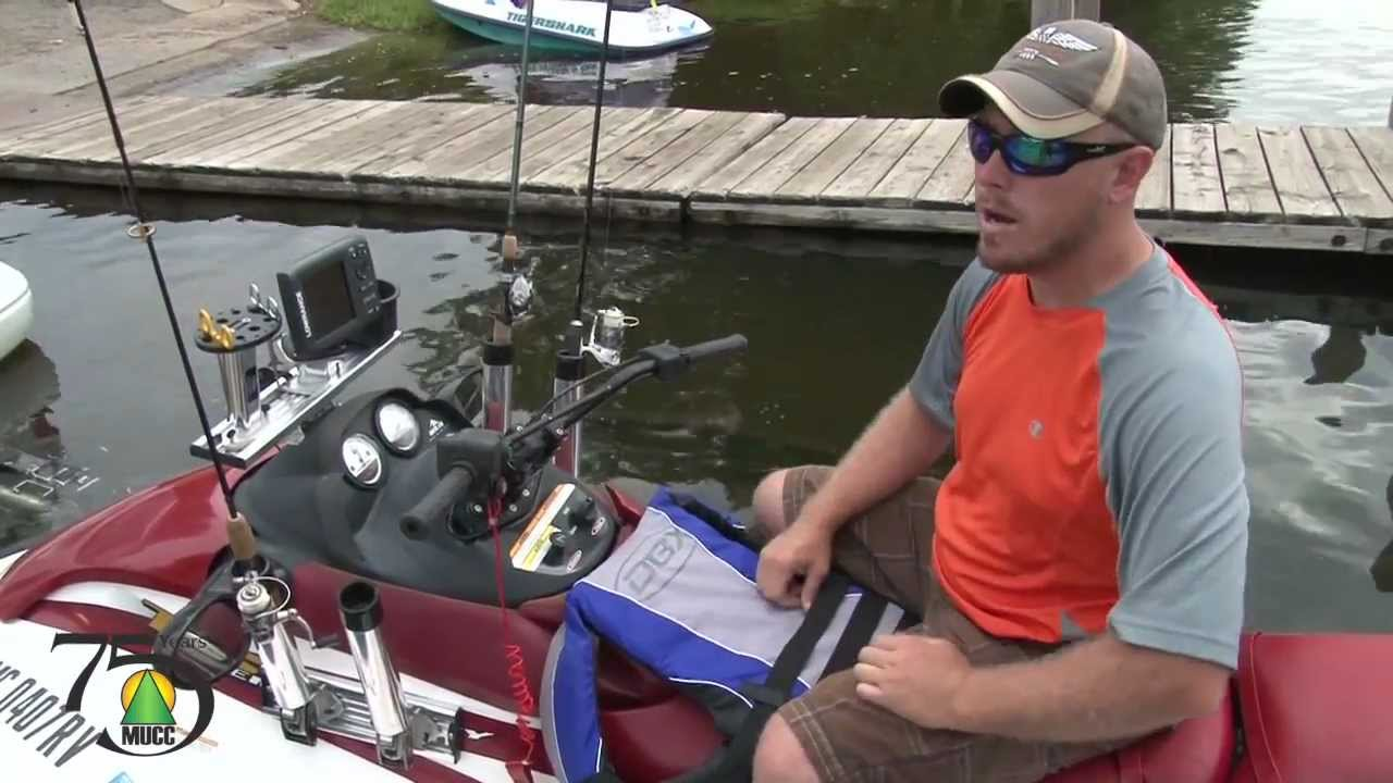 Jet ski fishing youtube for Fishing license for disabled person