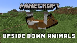 How To Ride A Horse Upside Down in Minecraft