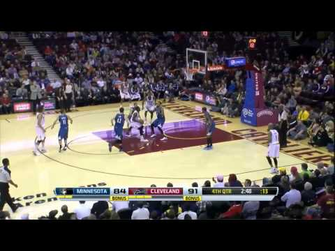 Minnesota Timberwolves - Cleveland Cavaliers 92-93 [4-Nov-13] The comeback that never came to be..