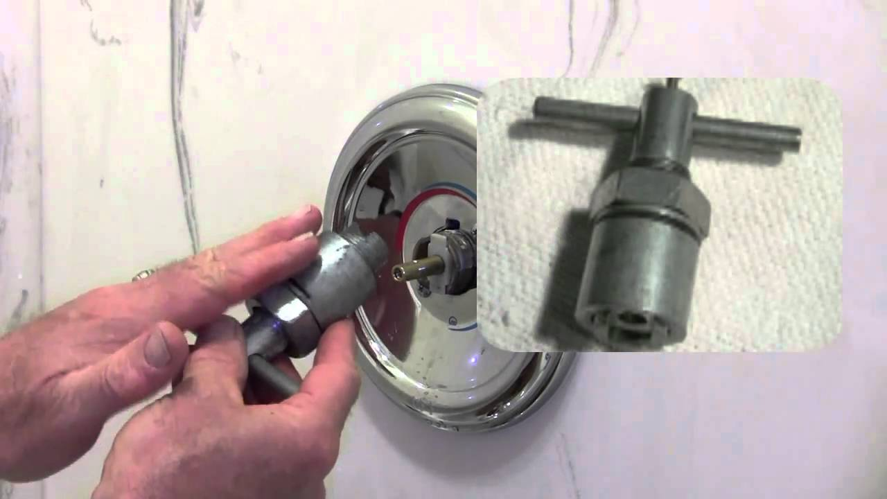 How To Repair A Moen Shower Tub Valve Youtube