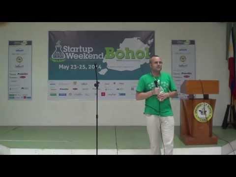 StartupWeekend Bohol 2014 Fire Pitches