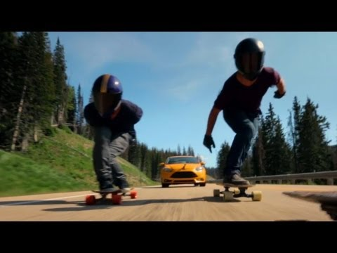 Ford Longboarding Adventure