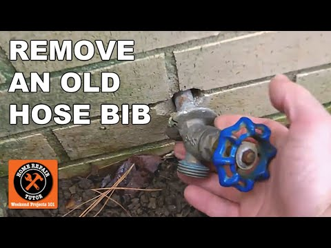 Frost Free Sillcocks How To Remove The Old Hose Bib By