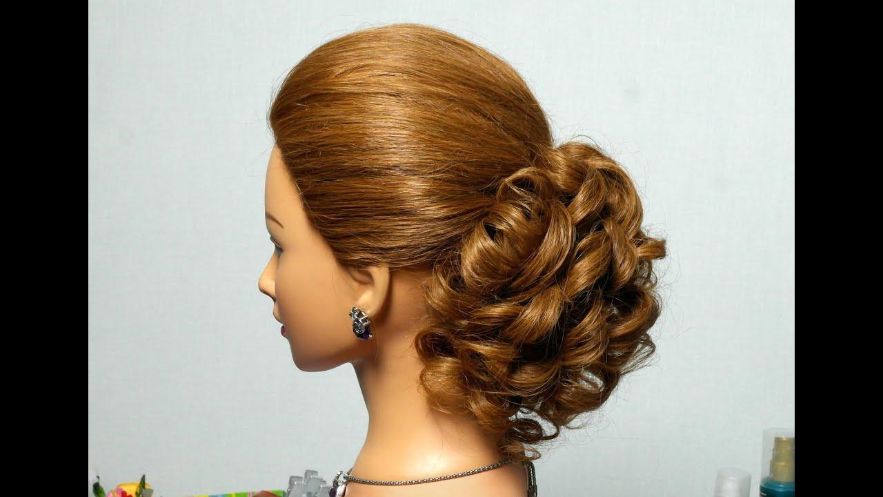 Прически для волос средней длины на ютубе